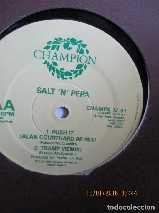 SALT 'N' PEPA ?– PUSH IT (REMIX) (Música - Discos de Vinilo - Maxi Singles - Rap / Hip Hop)
