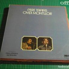 Disques de vinyle: PERE TAPIAS / OVIDI MONTLLOR - PERE TAPIAS / OVIDI MONTLLOR - DB BELTER 00-233 - 1978. Lote 214555718