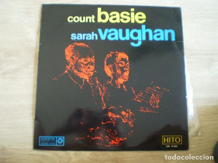 LP. COUNT BASIE SARAH VAUGHAN. AÑO 1967. BUENA CONSERVACION (Música - Discos - LP Vinilo - Jazz, Jazz-Rock, Blues y R&B)