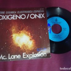 Discos de vinilo: MC. LANE EXPLOSIÓN , OXÍGENO - ONIX , SERIE CÓSMICA ELECTRÓNICA ESPACIAL. Lote 214561073