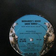 Discos de vinilo: SHEIK FAWAZ ?– MOHAMED'S HOUSE. Lote 214561153