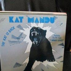 Discos de vinilo: KAT MANDU ?– THE KAT IS BACK. Lote 214561292