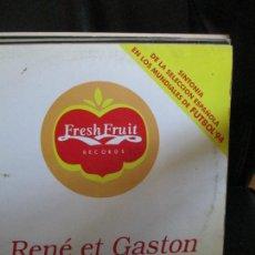 Discos de vinilo: RENÉ ET GASTON ?– VALLÉE DE LARMES. Lote 214561457