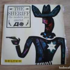 Discos de vinilo: LP. THE MODERN JAZZ QUARTET. THE SHERIFF. AÑO 1966. BUENA CONSERVACION. Lote 214561853