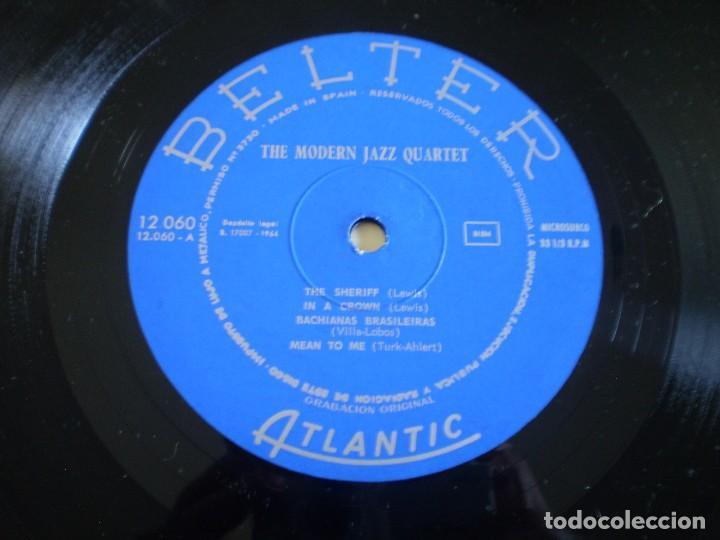 Discos de vinilo: LP. THE MODERN JAZZ QUARTET. THE SHERIFF. AÑO 1966. BUENA CONSERVACION - Foto 2 - 214561853