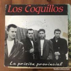 Dischi in vinile: COQUILLOS - LA PRISIÓN PROVINCIAL - SINGLE ÉNFASIS 1992 - PROMO. Lote 214563086