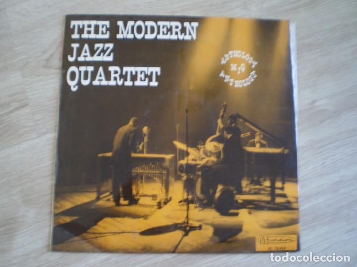 LP. THE MODERN JAZZ QUARTET. ANTHOLOGY. AÑO 1967 (Música - Discos - LP Vinilo - Jazz, Jazz-Rock, Blues y R&B)
