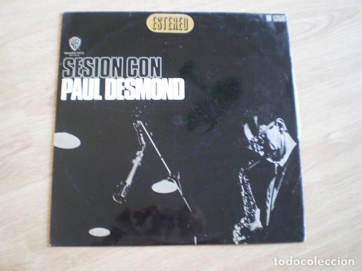 LP. SESION CON PAUL DESMOND. AÑO 1966. BUENA CONSERVACION (Música - Discos - LP Vinilo - Jazz, Jazz-Rock, Blues y R&B)