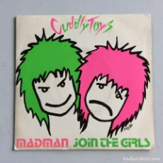 Discos de vinilo: CUDDLY TOYS – MADMAN / JOIN THE GIRLS UK 1980 FRESH RECORDS. Lote 214525192