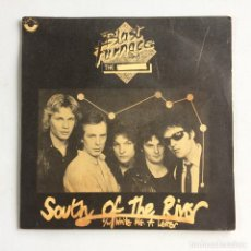 Discos de vinilo: BLAST FURNACE AND THE – SOUTH OF THE RIVER / WRITE ME A LETTER UK 1979 NIGHTTHAWK RECORDS. Lote 214525526
