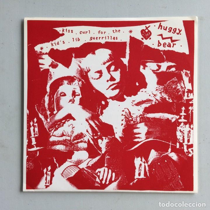 HUGGY BEAR – KISS CURL FOR THE KID'S LIB GUERRILLAS UK 1992 WIIIJA RECORDS (Música - Discos de Vinilo - EPs - Punk - Hard Core)