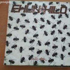 Discos de vinilo: EHUN KILO EULI ARTEAN LP 1993 CON INSERTO (SU TA GAR). Lote 232270420