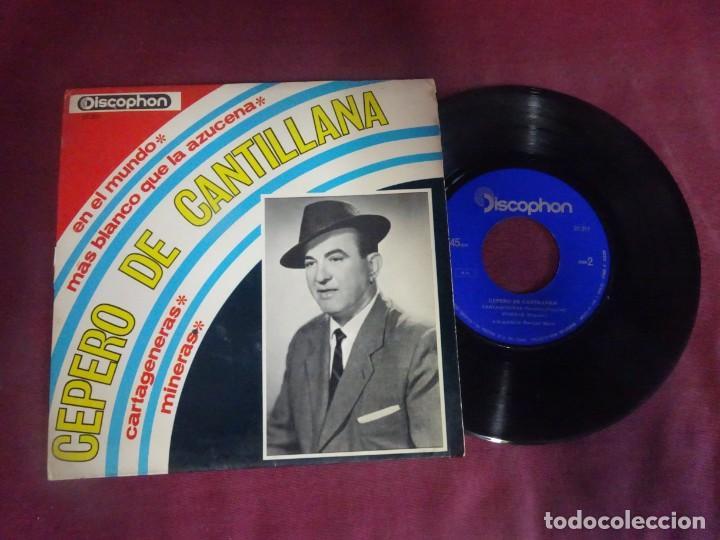 SINGLE , CEPERO DE CANTILLANA , VER FOTOS (Música - Discos - Singles Vinilo - Flamenco, Canción española y Cuplé)