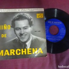 Discos de vinilo: SINGLE , - NIÑO DE MARCHENA , VER FOTOS. Lote 214570287