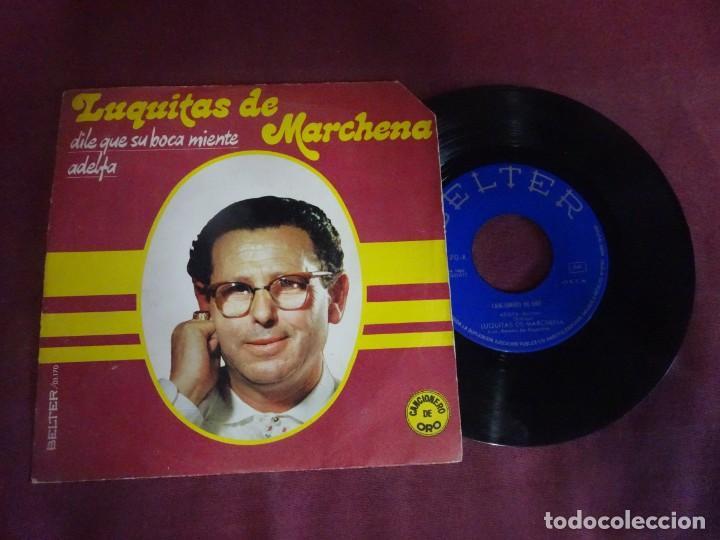 SINGLE , LUQUITAS DE MARCHENA, BELTER, VER FOTOS (Música - Discos - Singles Vinilo - Flamenco, Canción española y Cuplé)