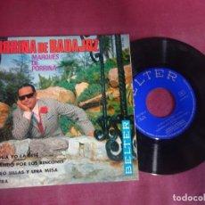 Discos de vinilo: SINGLE , PORRINA DE BADAJOZ, VER FOTOS. Lote 214571465