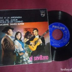 Discos de vinilo: SINGLE , - EL SEVILLANO - , VER FOTOS. Lote 214571965