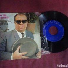 Discos de vinilo: SINGLE , NIÑO DE SAN JULIÁN , OJOS VERDES / NEGRO PELO / SOY UNA POBRE GITANA / , VER FOTOS. Lote 214573237