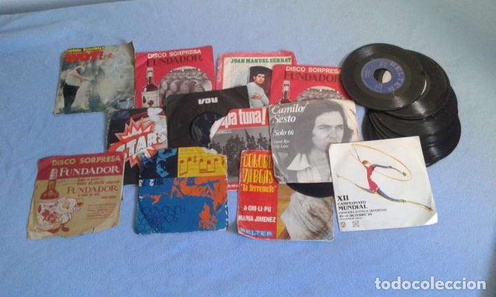 Discos de vinilo: GRAN LOTE DISCOS LPS, Y SINGLES, MAS DE 150 UNIDADES, DESCARATULADOS Y COMPLETOS - Foto 3 - 214575940