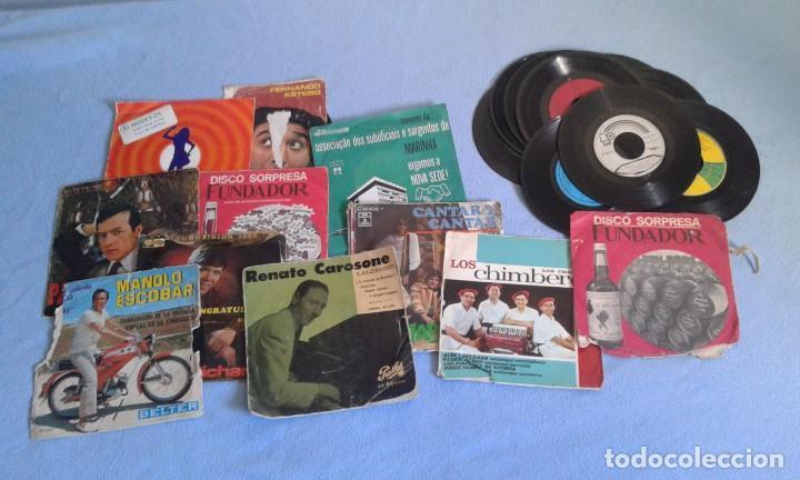 Discos de vinilo: GRAN LOTE DISCOS LPS, Y SINGLES, MAS DE 150 UNIDADES, DESCARATULADOS Y COMPLETOS - Foto 4 - 214575940