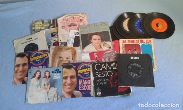 Discos de vinilo: GRAN LOTE DISCOS LPS, Y SINGLES, MAS DE 150 UNIDADES, DESCARATULADOS Y COMPLETOS - Foto 5 - 214575940