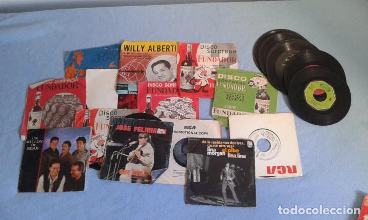 Discos de vinilo: GRAN LOTE DISCOS LPS, Y SINGLES, MAS DE 150 UNIDADES, DESCARATULADOS Y COMPLETOS - Foto 6 - 214575940