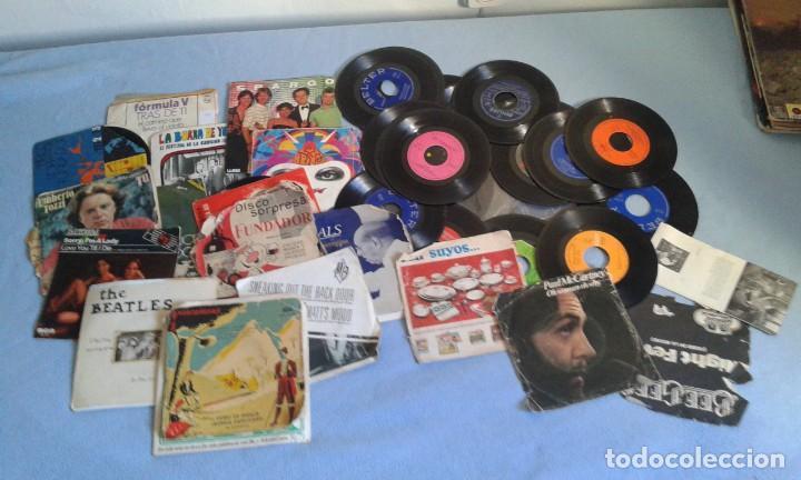 Discos de vinilo: GRAN LOTE DISCOS LPS, Y SINGLES, MAS DE 150 UNIDADES, DESCARATULADOS Y COMPLETOS - Foto 7 - 214575940