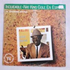 Discos de vinilo: NAT KING COLE. INOLVIDABLE. 10C 066-086.308 Y. ESPAÑA 1981.. Lote 214577540