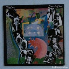 Discos de vinilo: THE CARS – DOOR TO DOOR PORTUGAL 1987 ELEKTRA. Lote 214569547