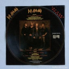 Discos de vinilo: DEF LEPPARD – LET'S GET ROCKED PICTURE DISC-LIMITED EDITION UK 1992 BLUDGEON RIFFOLA. Lote 214572498