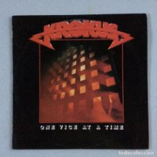 Discos de vinilo: KROKUS – ONE VICE AT A TIME PORTUGAL 1982 ARISTA. Lote 214573172