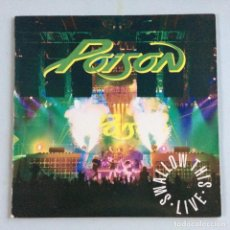 Discos de vinilo: POISON – SWALLOW THIS LIVE PORTUGAL 1991 CAPITOL RECORDS. Lote 214576528