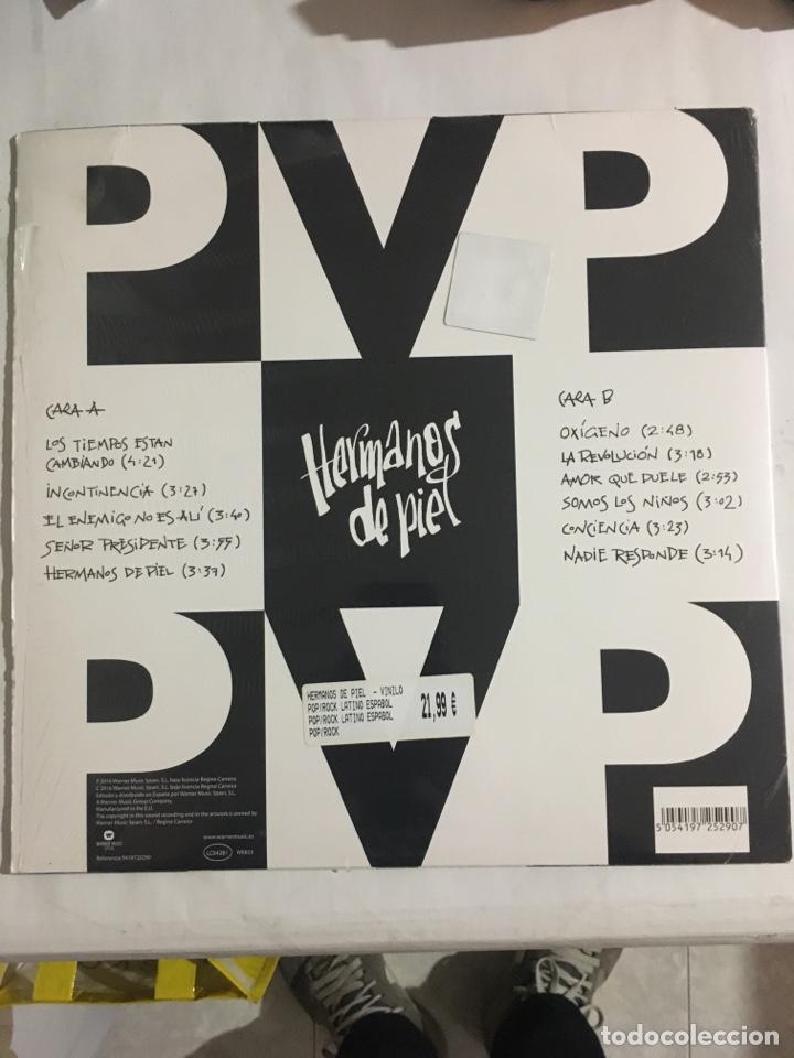 Discos de vinilo: PVP-HERMANOS DE PIEL-2016-LP 180 Gr+CD- NUEVO-PUNK - Foto 2 - 213422858