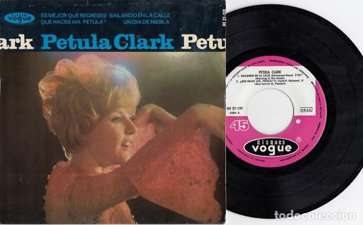 PETULA CLARK - DANCING IN THE STREETS - EP DE VINILO EDICION ESPAÑOLA # (Música - Discos de Vinilo - EPs - Pop - Rock Internacional de los 50 y 60)