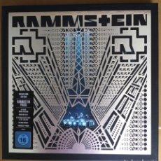 Discos de vinilo: RAMMSTEIN - PARÍS - THE DELUXE BOX EDITION 4 VINILOS AZULES 2 CDS Y 1 BLUE RAY. Lote 214636420