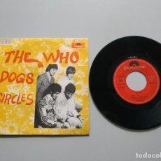 Disques de vinyle: 0820 THE WHO DOG CIRCLES ESPAÑA 1968 VIN 7 SINGLE VG DIS VG +. Lote 214639987