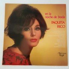 Discos de vinilo: PAQUITA RICO LP OLYMPO 1974 EN LA NOCHE DE BODAS. Lote 214664735