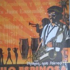 Discos de vinilo: NILO ESPINOSA SHAKEN NOT STIRRED AFRO CUBAN LATIN JAZZ SOUL FUNK ESPAÑA 2007 VG++. Lote 214675830