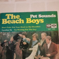 Discos de vinilo: THE BEACH BOYS. DON'T TALK. ( PUT TOUR HEAD MY SHOULDER ). EP. Lote 214679781