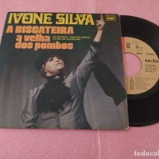 """Discos de vinilo: 7"""" IVONE SILVA – A BISCATEIRA / A VELHA DOS POMBOS - PORTUGAL PRESS (VG+/VG++). Lote 214708043"""