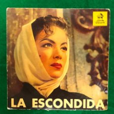 Dischi in vinile: LA ESCONDIDA (TEMAS DE LA PELICULA) HERMANOS ZAIZAR / TE AMARE VIDA MIA + (OTROS) EP 1958 RF-4429. Lote 214710187