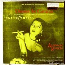 Discos de vinilo: DINNER IN CARACAS (CENA EN CARACAS)..ALDEMARO ROMERO..VENEZUELA....EX. Lote 214725177