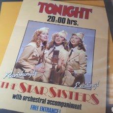 Discos de vinilo: THE STAR SISTERS TONIGHT 20:00. Lote 214725180
