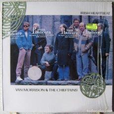Discos de vinilo: VAN MORRISON & THE CHIEFTAINS.IRISH HEARTBEAT...EX. Lote 214725616