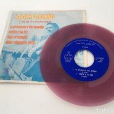 Discos de vinilo: ALBERTO LOZANO Y SUS CANCIONES. Lote 214728797