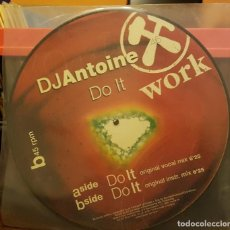 Discos de vinilo: DJANTOINE - DO IT WORK. Lote 214729277