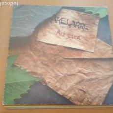 Disques de vinyle: AKELARRE ARI GARA LP INSERTO. Lote 214730647