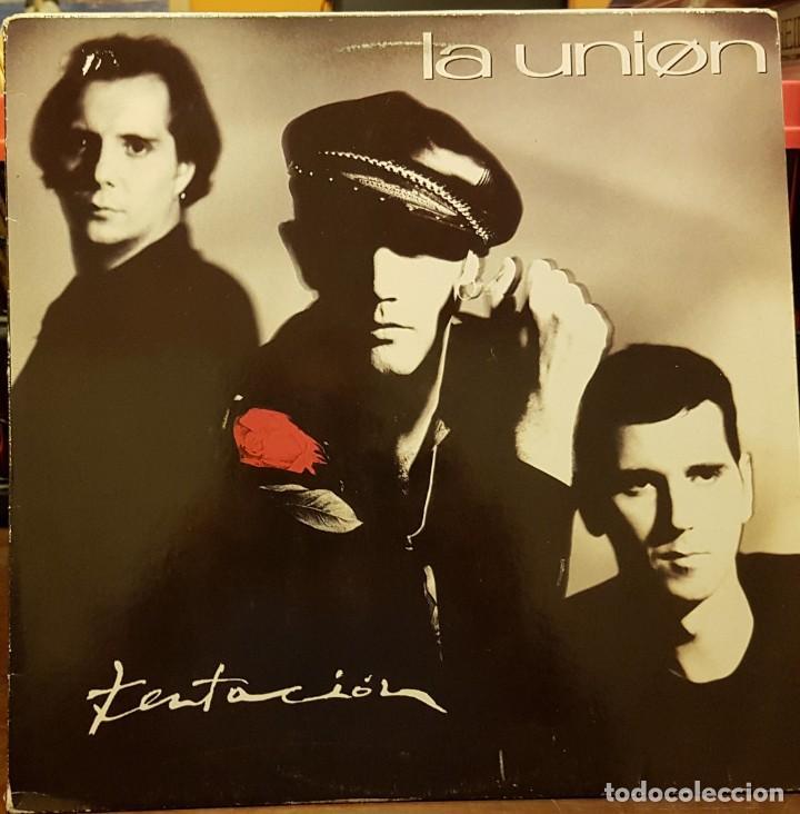 LA UNIÓN - TENTACIÓN (Música - Discos - LP Vinilo - Grupos Españoles de los 90 a la actualidad)