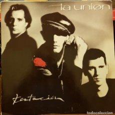 Disques de vinyle: LA UNIÓN - TENTACIÓN. Lote 214743731