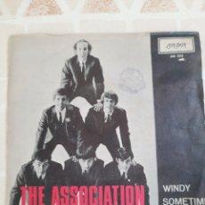 Discos de vinilo: THE ASSOCIATION. WINDY. SINGLE.. Lote 214746676